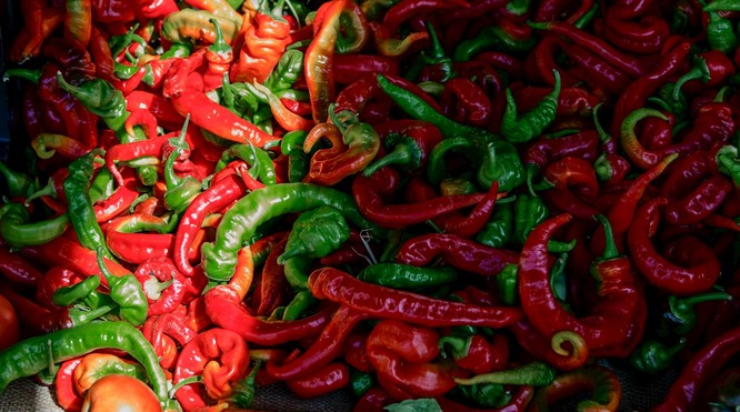 Hot cin pepper